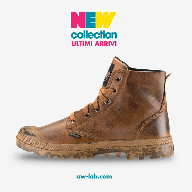 New Collection #AWLAB #PALLADIUM PAMPA LEATHER Prezzo: 115,00€ Shop Online: http://www.aw-lab.com/shop/palladium-pampa-leather-8044030