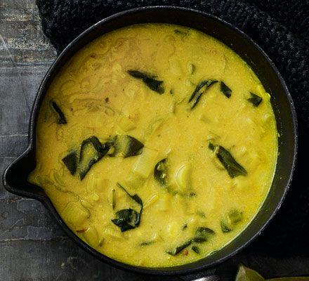 Red lentil & coconut soup | BBC Good Food