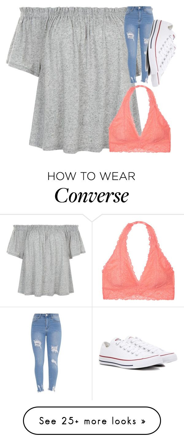 """Untitled #3285"" by laurenatria11 on Polyvore featuring Victoria's Secret and Converse"