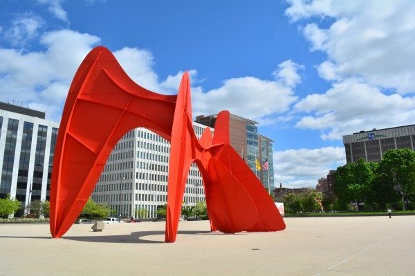Calder Plaza is one of Grand Rapids' most recognizable landmarks and…