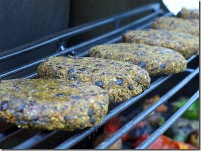 black bean burgers- daily garnish