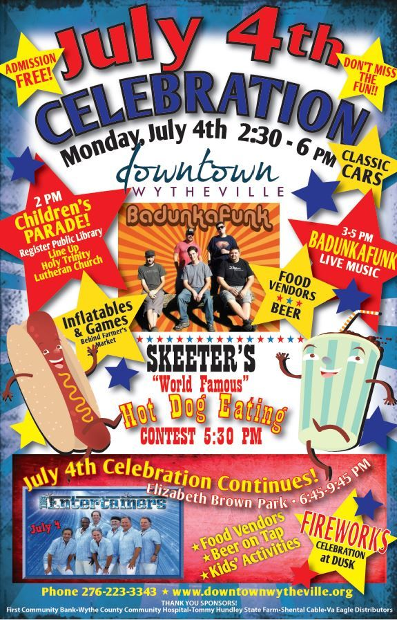 4th of july celebration greenville sc
