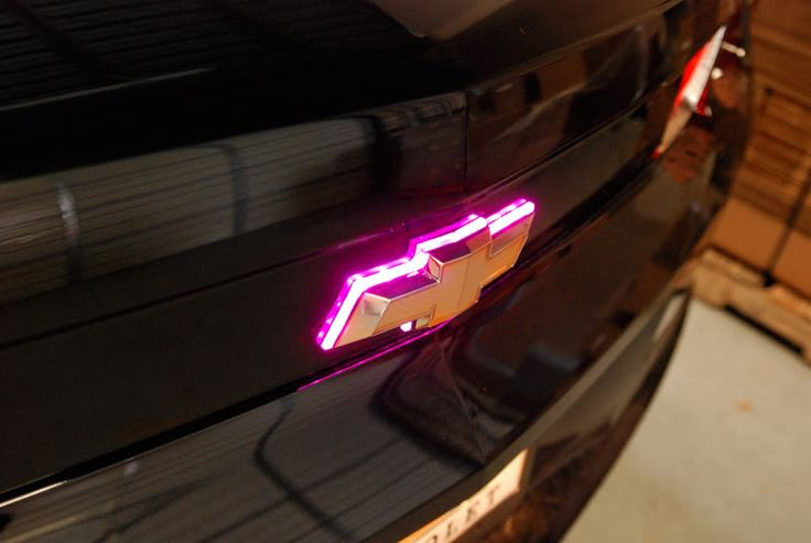 AACstyle LED Illuminated Rear Bowtie>>> First Pics! - Page 3 - ModernCamaro.com - 5th Generation Camaro Enthusiasts