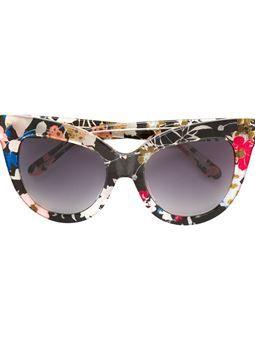 """солнцезащитные очки с оправой """"кошачий глаз"""""""