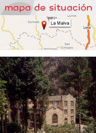 Central hidráulica La Malva en Asturias - Museo de la Energía