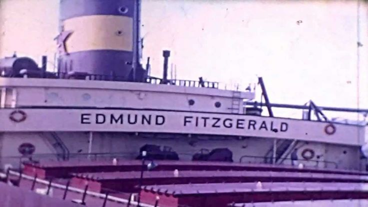 Edmund Fitzgerald and Crew - Rare Footage; amateur video, filmed November, 1968, shortly before she went down.