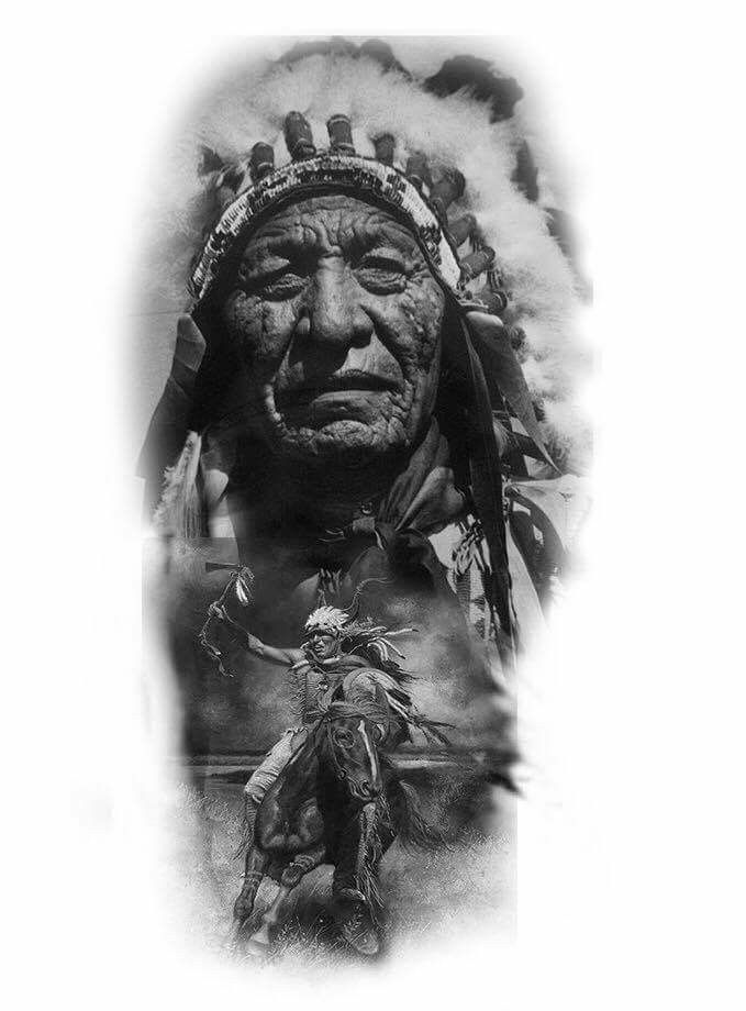 Getting A Native American Indian Tattoo The Trouble With - 679×920