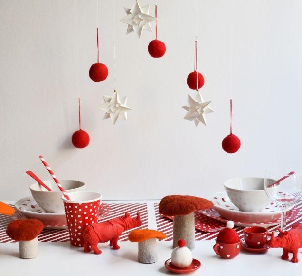 Exceptionnel Table De Noël Inspiration Nature   Table De Noël : Nos Idées De Décoration  En Vidéos Et Photos