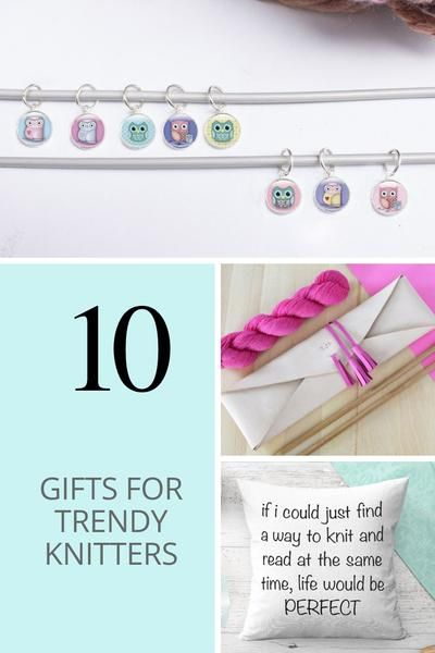 looking for gifts for knitters, these knitting accessories and gift ideas  are a great starting point for your search for the perfect knitting gift  for your ... - Top 10 Gifts For Trendy Knitters Christmas Gifts 2018 Gifts