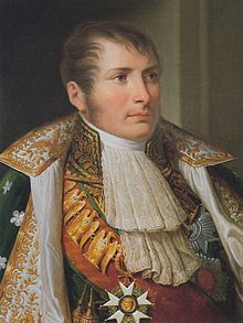 Eugène Rose de Beauharnais was the first child and only son of Alexandre de Beauharnais and Joséphine Tascher de la Pagerie, future wife of Napoleon I. He was born in Paris, France and became the stepson and adopted child (but not the heir to the imperial throne) of Napoleon I. His biological father was executed during the revolutionary Reign of Terror. He commanded the Army of Italy and was Viceroy of Italy under his stepfather.