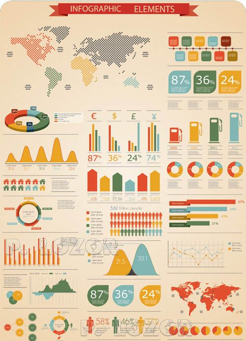 Make your own info graphics with these resources and templates.