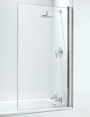 Coram Frameless Bath Screen  - Plumbworld
