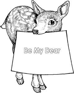 17 best images about deer on pinterest animal coloring pages track and one color. Black Bedroom Furniture Sets. Home Design Ideas