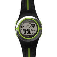 Dakota Watch Company Heart Rate Monitor Watch Lime 3691-0
