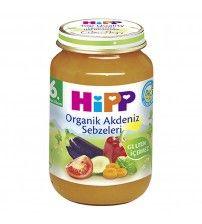 Hipp Organik Akdeniz Sebzeleri 190 gr