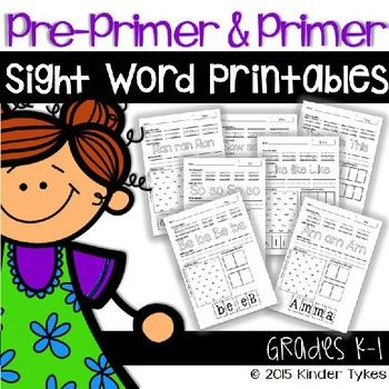 This product is a great addition to any classroom! These sight word worksheets are perfect for morning work, busy work, or to supplement your daily sight word practice. In this download you will receive 92 worksheets, each focusing on a specific sight word.