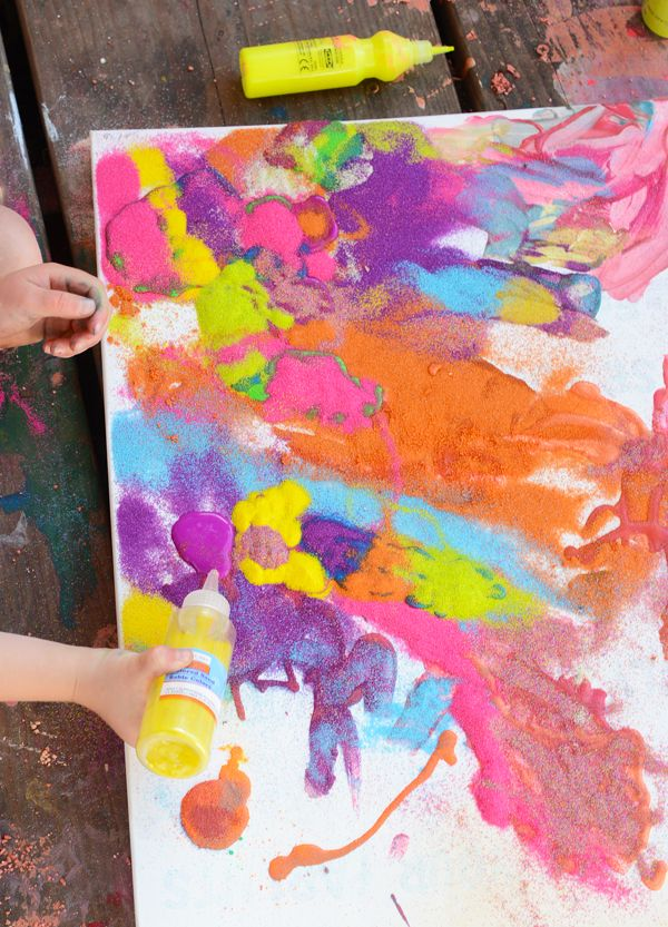 sand painting - Pictures For Kids To Paint