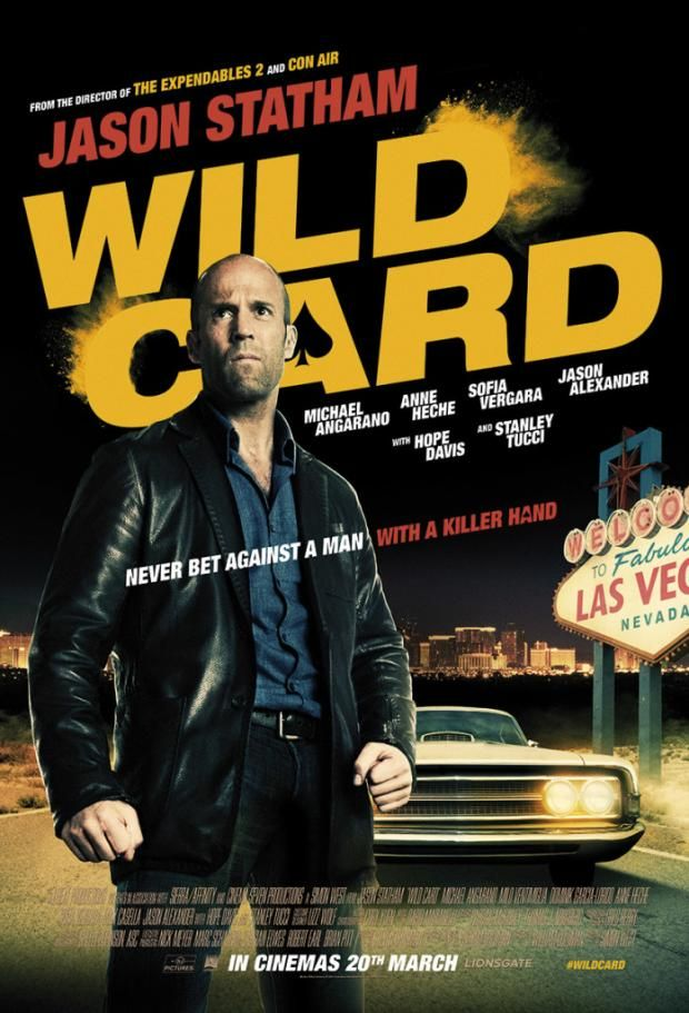 Jason Statham in yet another Action Thriller 'Wild Card' (Trailer). Wild Card is an upcoming 2015 American crime drama film based on the 1985 novel Heat by