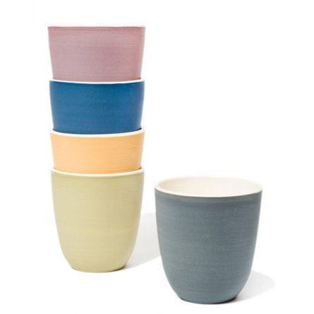 Home :: Ceramics :: Ceramic goblets set of 2 by A+J $50