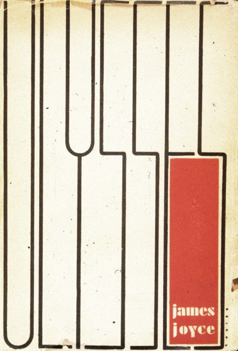 Ulysses (1934), hand-lettered and designed by Ernst Reichl, was said to be influenced by the paintings of Piet Mondrian.