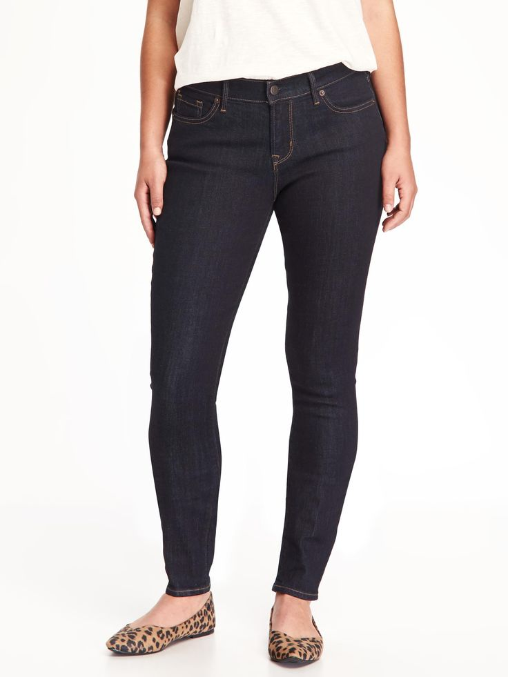 StitchFix: these are my go-to Jeans. Old Navy Curvy, size 10. Short length if available. Either straight or skinny. Dark wash, plain