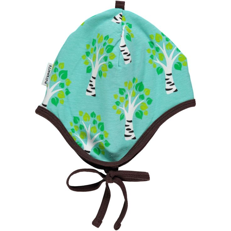 Tree Helmet Hat Spring 17 Kids Clothes by Maxomorra. Organic Cotton Kids Clothes. Offered in Canada by Modern Rascals.