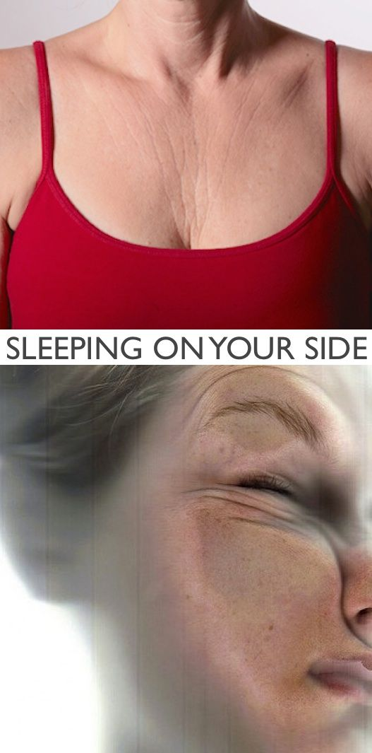 #3. Sleeping on your side (ages you 10+ years!) | 20 Beauty Mistakes You Didn't Know You Were Making