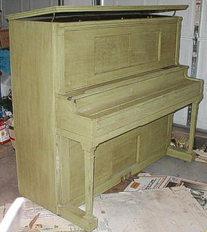 52. Refinishing the Piano Cabinet