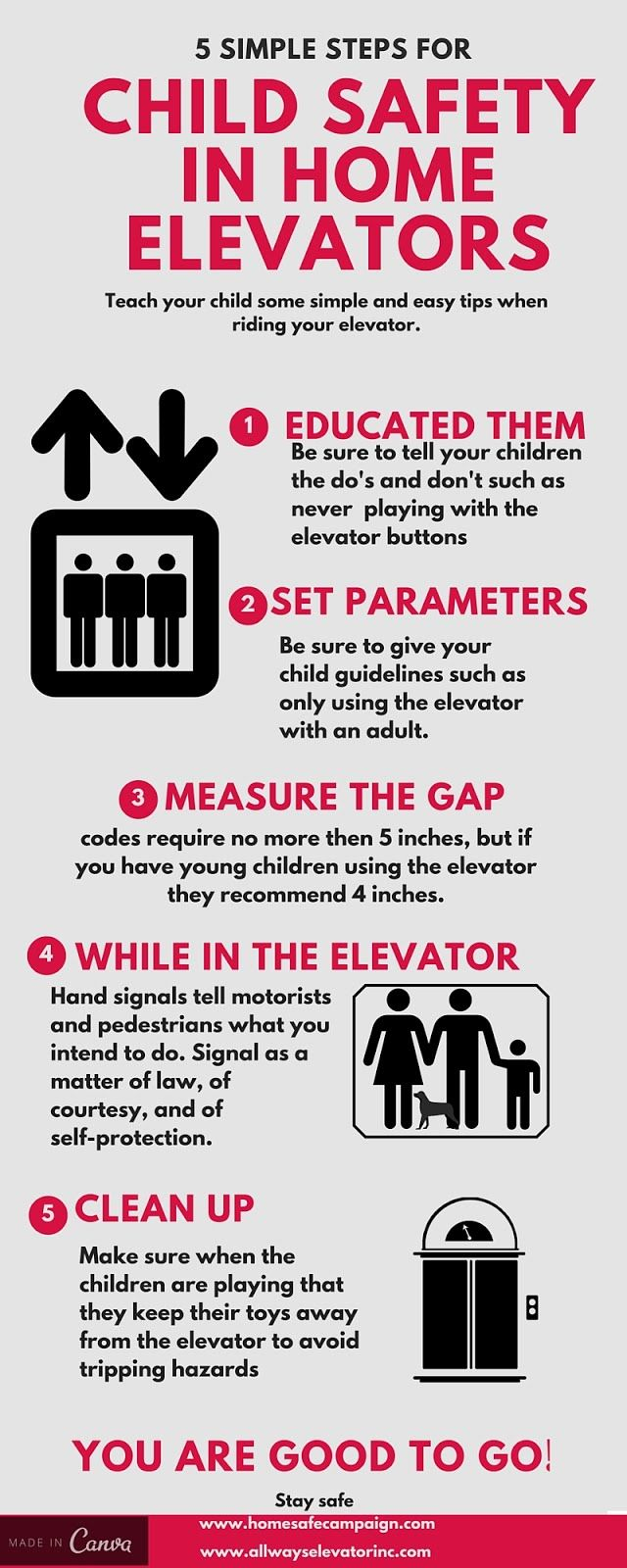 Keep your child safe on an Elevator! Safety tips from All ...