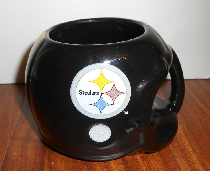 Pittsburgh Steelers Team NFL Sports Concepts Helmet Coffee Mug 1986 #SportsConcepts #PittsburghSteelers