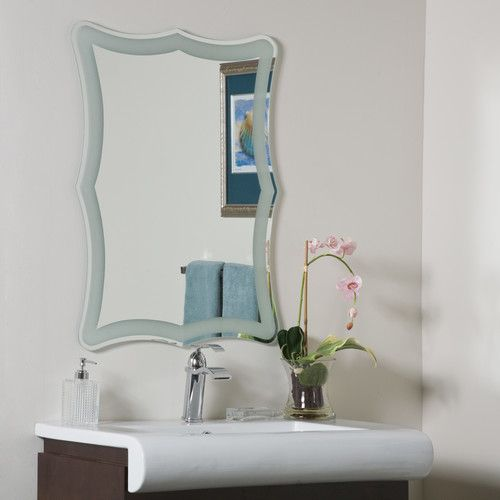 Picture Collection Website Shop Decor Wonderland Coquette Frameless Bathroom Mirror at Lowe us Canada Find our selection of bathroom mirrors at the lowest price guaranteed with price