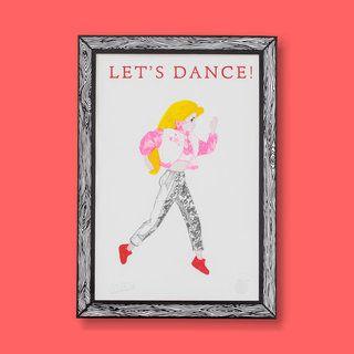 LET'S DANCE! Barbie™ Official Print