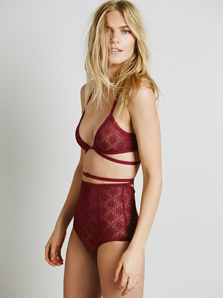 Swoon! Free People Launched the Most Gorgeous Lingerie Line via @WhoWhatWear
