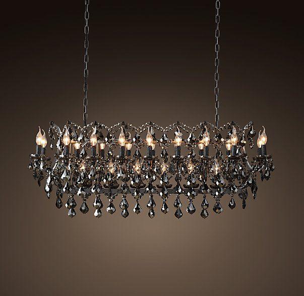 rectangular chandelier on pinterest chandeliers modern chandelier. Black Bedroom Furniture Sets. Home Design Ideas