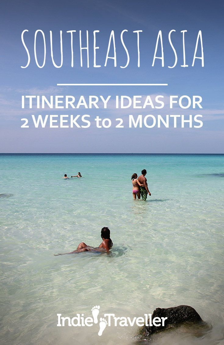 Southeast Asia Itineraries & Backpacking Routes (Ultimate Guide