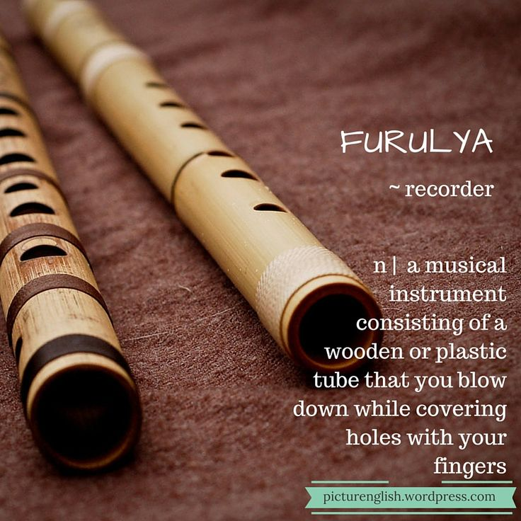 Recorder / Furulya