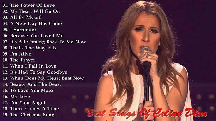 Best Of Celine Dion 2015 (HD/HQ)