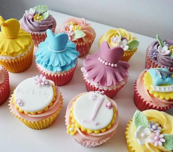 Cupcakes Vestidos De Bailarina O Princesa Paso A Paso