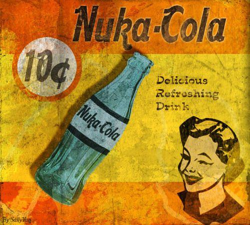 Nuka-Cola: Games Rooms, Retro Styles, Videos Games, Fallout Stuff, Fallout Boards, Fallout 3, Nuka Cola, Drawings Inspiration, Nukacola Ads