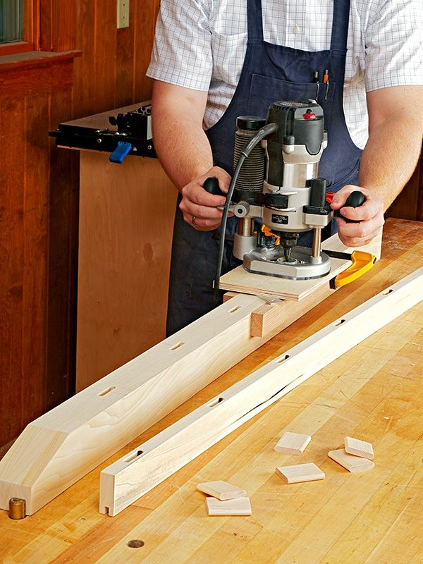 Using a 1.5 HP hand held router and this self centering mortising jig, you can rout strong joints quickly and accurately like the loose tenon joint and others. As low as $1.99