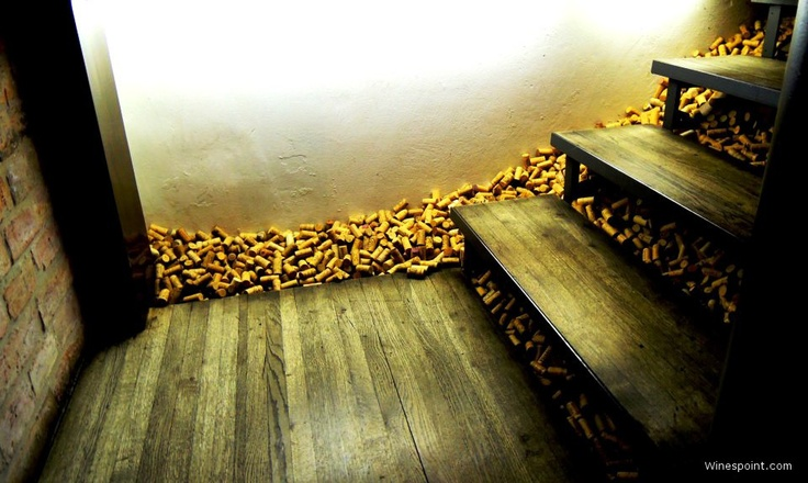"#Wine steps ..""I see corks everywhere...are 3 bottles too much?"""