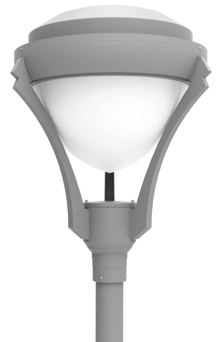 LED Post Top Light Fixtures LED-PT-722 Series  DukeLight.com