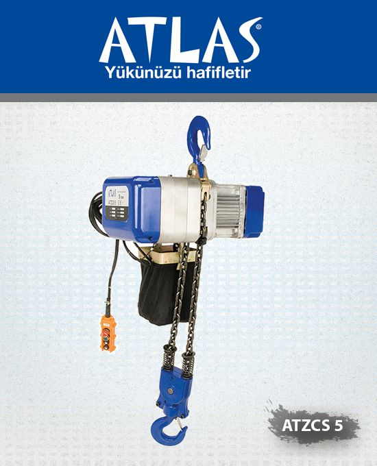 Atlas sıvı yağlı trifaze vinç ATZCS 5 profesyonel vinçtir. Elektrikli zincirli vinç 5 ton taşıma kapasiteli vinçtir. Hızlı ve performanslı çalışma normlarına sahip vinç ağır sanayi için idealdir. http://www.ozkardeslermakina.com/urun/vinc-sivi-yagli-elektrikli-vincler-atlas-atzcs-5-ton/ #atlas #agirsanayi #insaat #fabrika #vinc