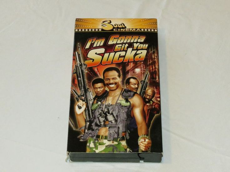 I'm Gonna Git You Sucka 1999 VHS R Keenen Ivory Wayans Soul Cinema M207383*^