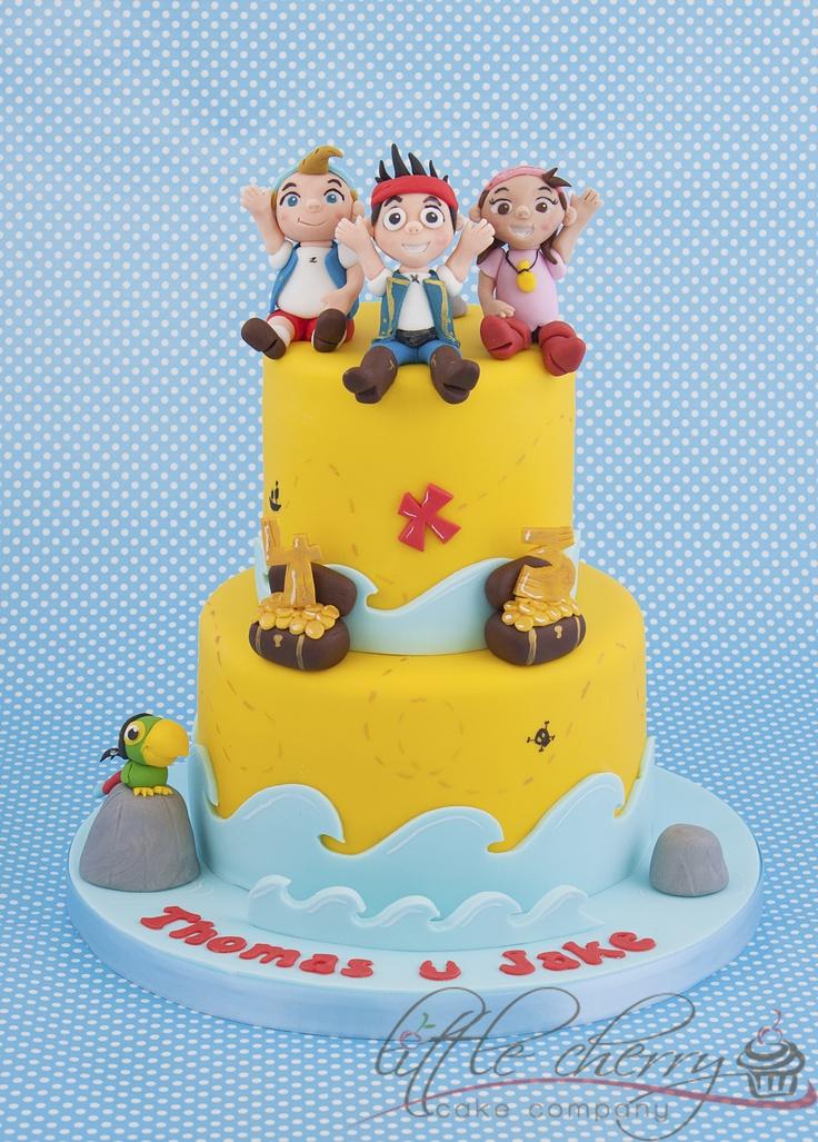 Jake and the Neverland Pirates Cake | Cake Love ...