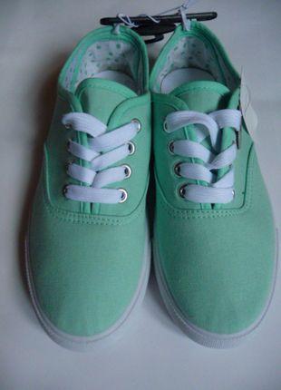 Kup mój przedmiot na #vintedpl http://www.vinted.pl/damskie-obuwie/obuwie-sportowe/10001638-nowe-mietowe-trampki-atmosphere-rozmiar-36
