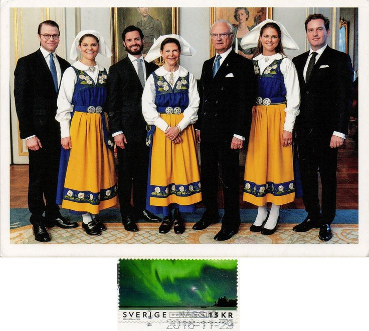 SWE-741 - Arrived: 2016.12.01   ---   Royal family of Sweden in folk costumes