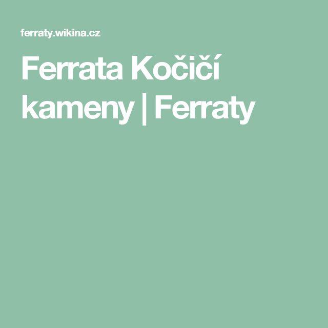 Ferrata Kočičí kameny | Ferraty