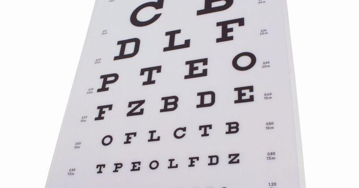 Como passar em um teste de visão. Exames oftalmológicos são administrados como parte de um check-up completo e determinam o estado de sua visão. Embora possa parecer apropriado tentar ir muito bem no teste, é melhor simplesmente seguir as instruções do optometrista e responder a todas as perguntas. Não tenha medo do exame de visão, pois ele serve apenas para ajudá-lo com as ...