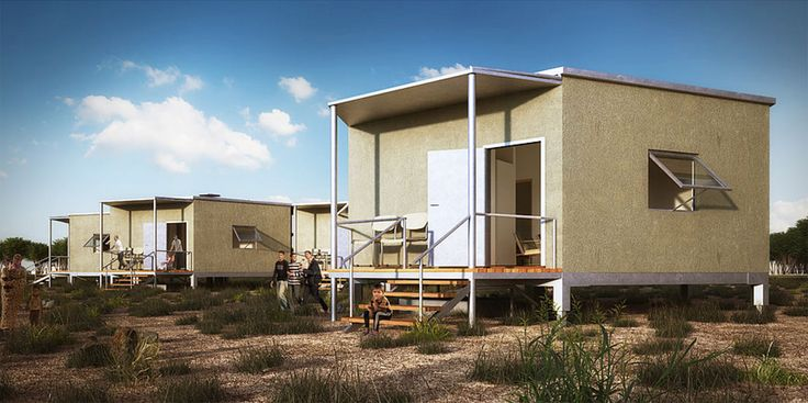 Hex House is an affordable, rapidly deployable solar home for disaster victims